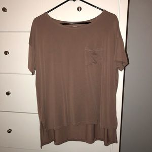 Silence & Noire (Urban Outfitters) Mauve Tee